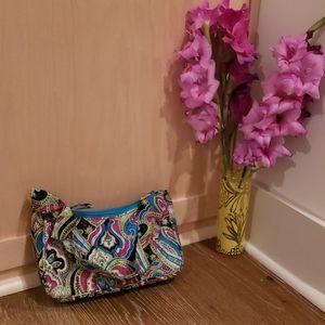 Vera bradley bright colored shoulder bag